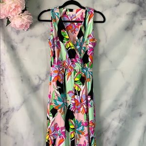 Jude Connally Multicolor Print Sleeveless Jumpsuit